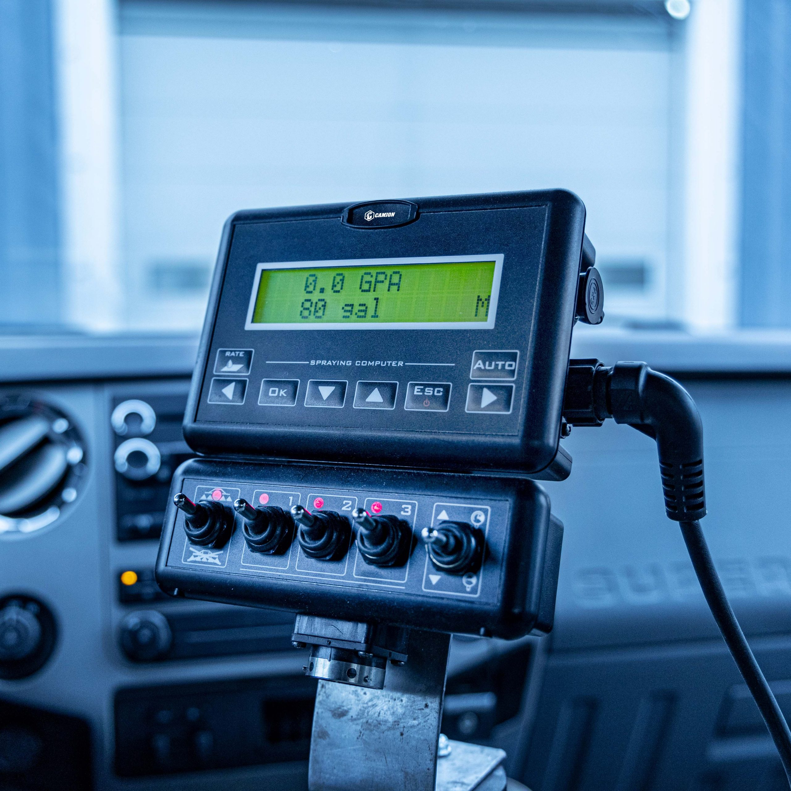 GPS Rate Controller